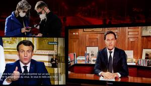 Son dakika... Corona virüsle ilgili Avrupada son gelişmeler Hepsi birer birer televizyona çıktı