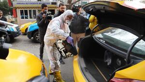 7 bin 701 taksiye dezenfeksiyon