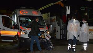 Adanada Corona Virüs hareketliliği Otobüsten indirip gözlem altına aldılar