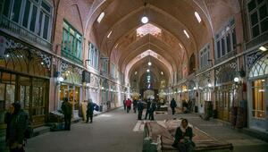 İranda tarihi Tebriz Çarşısı koronavirüs nedeniyle kapatıldı