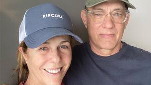 Corona Virüsüne yakalanan Tom Hanks ve eşi Rita Wilson hastaneden taburcu oldu Çift kendini karantinaya aldı