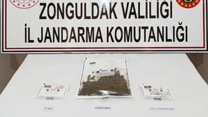 Zonguldakta uyuşturucu operasyonu: 3 gözaltı