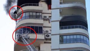 Korkunç anları anlattı 6-7 dakika müdahale edilmedi, merdiven kısa kaldı