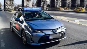 Sürücüsüz otomobil İstanbulda trafiğe çıktı