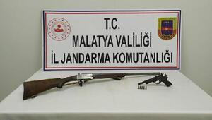 Malatyada silah kaçakçılığına 1 gözaltı
