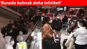 Son dakika haberler: Çin vatandaşları ülkelerine geri dönüyor Pekin Havalimanı dolup taştı