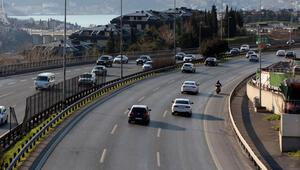 İstanbul trafiğine corona virüsü etkisi