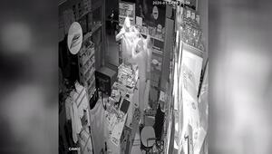 Ataşehirde marketten hırsızlık kamerada