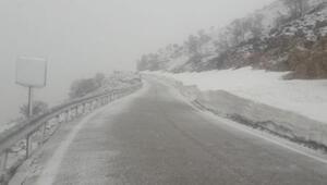 Dünya mirası Nemrutun yolu kar nedeniyle kapandı