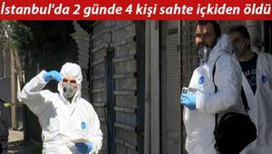 İstanbulda 2 günde 4 kişi sahte içkiden öldü Ürküten açıklama: Bu durumda çok kişi var