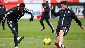 Beşiktaşta Antalyaspor mesaisi sürüyor