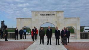 Edirne'de 'en sade' 18 Mart töreni yapıldı