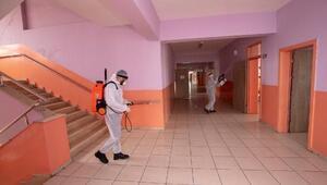 İpekyolu Belediyesi ekiplerinden koronavirüs önlemleri
