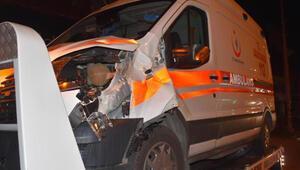 Ambulansın çarptığı çift öldü, sürücü serbest