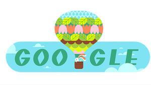 Googledan İlkbahara özel doodle -İlkbahar mevsimi ne zaman başlar