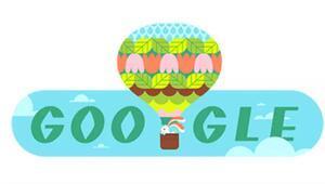 Googledan İlkbahar başlangıcına özel Doodle