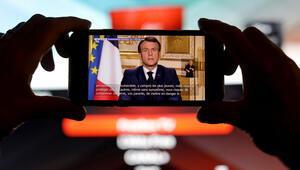 Macron, ECB önlemleri için tam destek veriyor