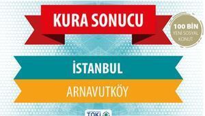 TOKİ Arnavutköy 3+1 nitelikli konutun kura sonuçları açıklanıyor - TOKİ canlı kura sonuç sayfası