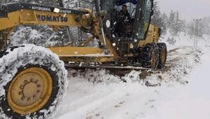 Fekede ulaşıma kar engeli