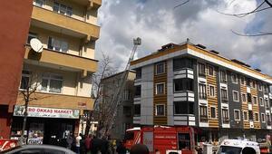 Sultangazide yangında engelli anne ve kızını komşuları kurtardı