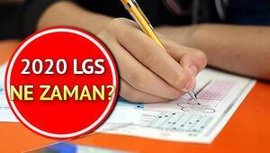 LGS ertelenecek mi 2020 LGS sınavı ne zaman yapılacak Bakan Selçuk yanıtladı