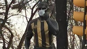 Alex de Souzadan maske teşekkürü Corona virüsü...
