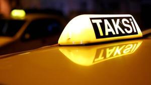 Taksicilerin işleri düştü, eylem yaptılar