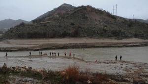 Munzur Nehrinde kaybolan uzman çavuşu arama çalışmalarında 4üncü gün