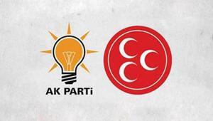 Mecliste kritik görüşme AK Parti ve MHP...