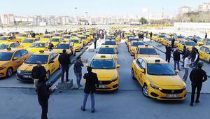 Taksiciler isyanda