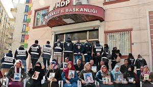 Diyarbakırda HDP önündeki eylemde 201inci gün; aile sayısı 134 oldu
