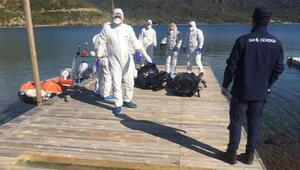 Kayıp şahısların olduğu değerlendirilen iki cesede ulaşıldı