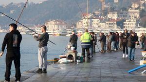 Evde Kal çağrılarına rağmen İstanbulda sahillere akın bugün de sürüyor