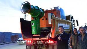 Belediyenin mühendis ve ustaları yaptı Virüs avcısı Covit19savar