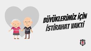 Beşiktaştan örnek davranış 65 yaş ve üzerindeki üyelerine...