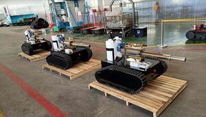 Koronavirüse karşı bu robotlar mücadele verecek