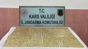Kars'ta bin 995 adet sikke ele geçirildi