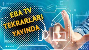 EBA TV tekrarları hangi kanalda saat kaçta yayınlanıyor EBA TV tekrarları canlı izle kısa yol sayfası