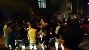 İstanbul'da corona virüse rağmen toplanıp asker uğurladılar