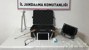 İncesuda tarihi eser operasyonu: 4 gözaltı
