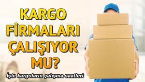 Kargolar çalışıyor mu Kargo şirketleri çalışma saatleri nedir Sürat, PTT, Yurtiçi, Aras Kargo çalışma saatleri