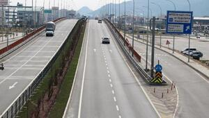 Afyonkarahisar trafiğine koronavirüs etkisi