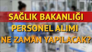 Sağlık Bakanlığı 32 bin personel alımı branş dağılımı belli oldu mu Sağlık personeli alınıyor