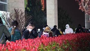 Yurt dışından gelenler Sakaryada yurda yerleştirildi