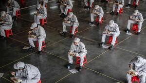 Çin'de corona virüs salgınında 78 yeni vaka