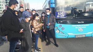 AHOK otobüsleri de sağlık çalışanlarına ücretsiz