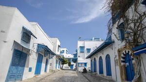 Sidi Bu Said koronavirüs nedeniyle hayalet kasabaya döndü