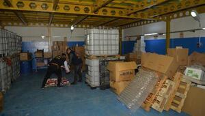 Adanada 650 bin liralık sahte temizlik ürünü ele geçirildi