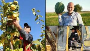 Alanyaspor Başkanı Çavuşoğlu, koronavirüs arasını bahçelerinde geçiriyor