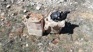 Bitliste köy yoluna tuzaklanmış 60 kilo EYP ele geçirildi